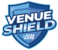 ASM Global Venue Shield Logor