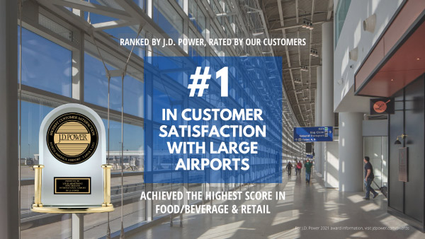 JD Power awards MSY #1 airport in North America