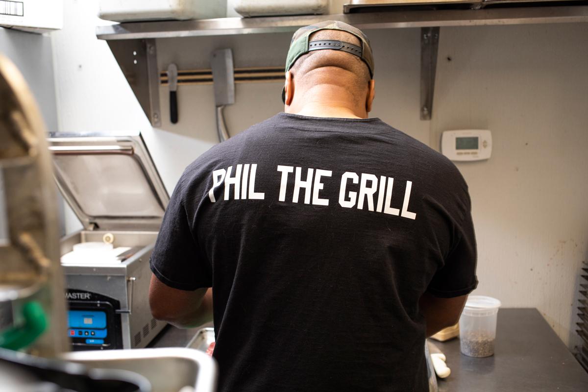 Phil Johnson Trapp Haus BBQ