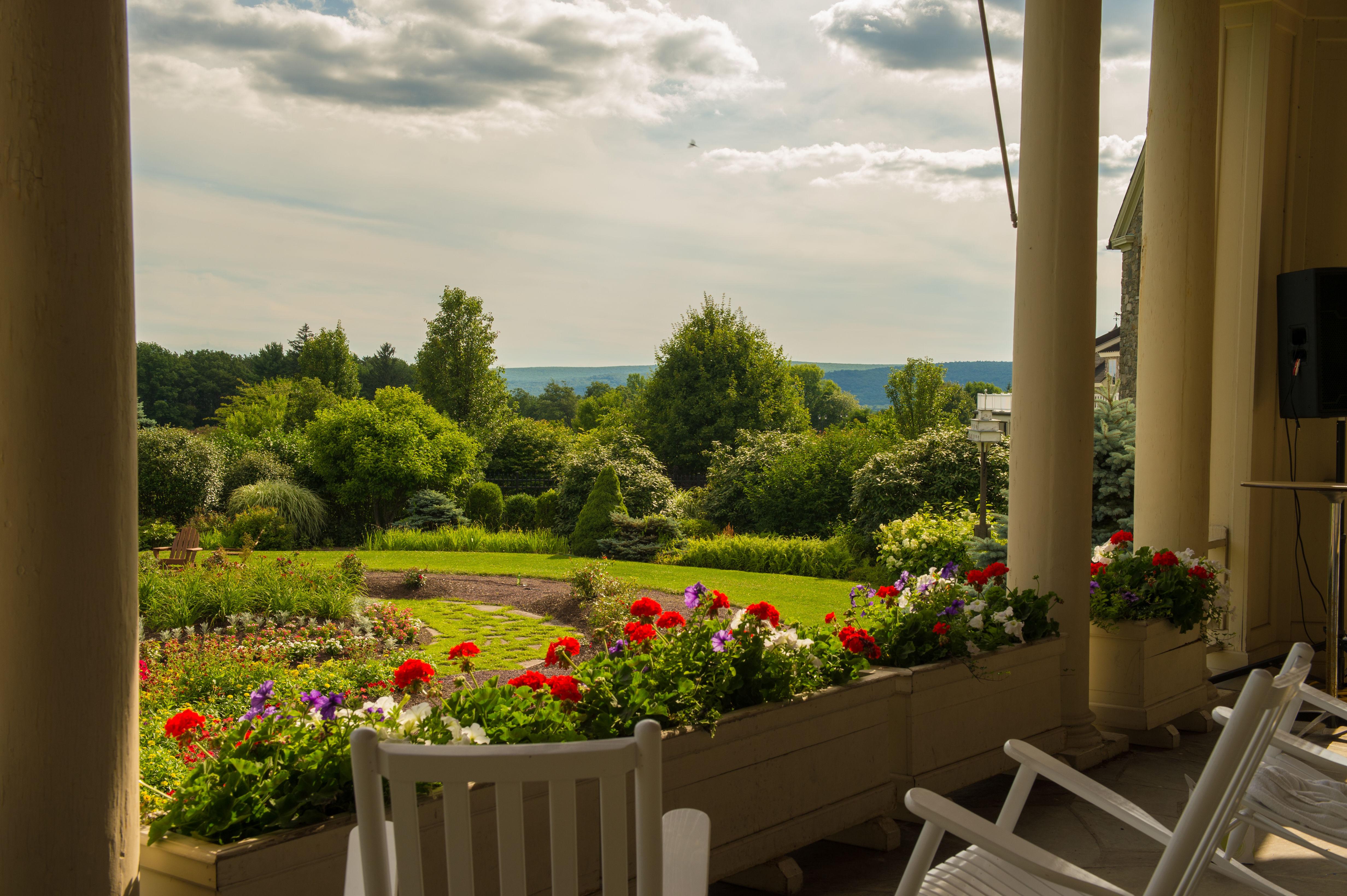 Resort Garden at Skytop Lodge