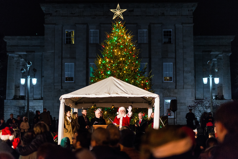 State Capitol Tree Lighting 2017