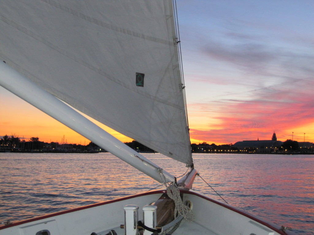 Monday Chesapeake Bay History Sunset Sail
