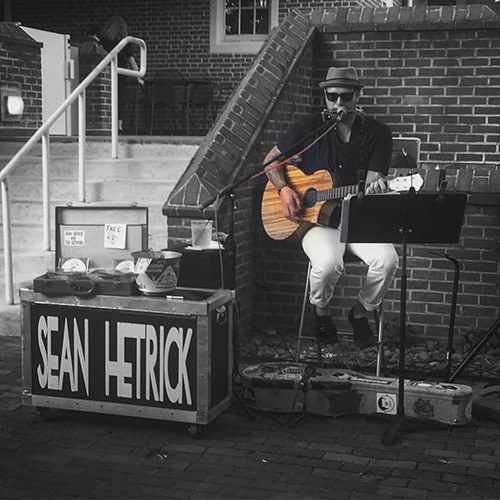 Live Music with Sean Hetrick and $6 Burgers