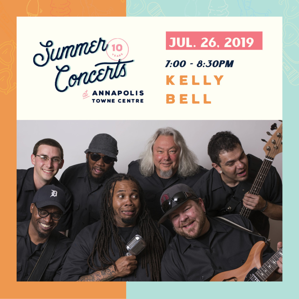 Summer Concerts at Annapolis Towne Centre : Kelly Bell Band