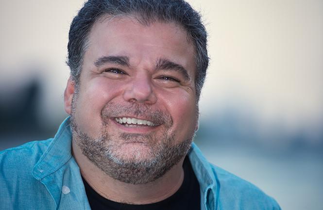 Comedian Brian Scolaro