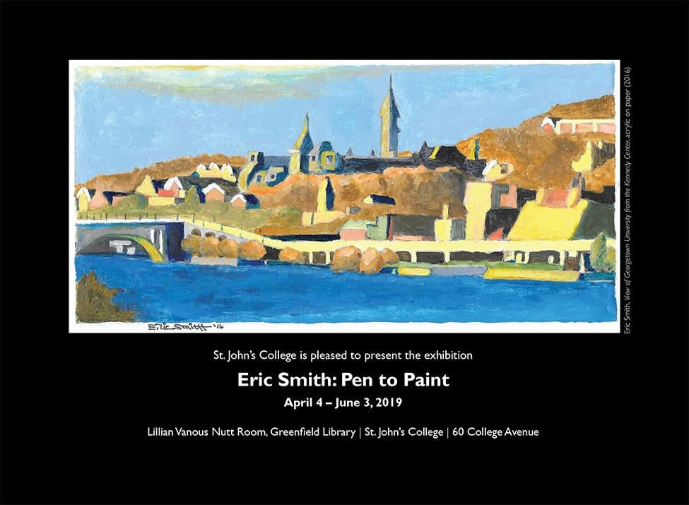 Eric Smith: Pen to Paint