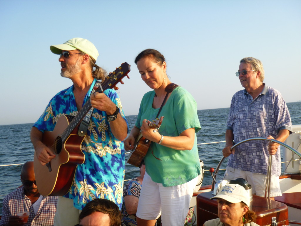 Thursday Acoustic Music Sunset Sail