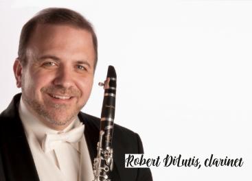 Annapolis Symphony Orchestra presents Robert DiLutis, clarinet