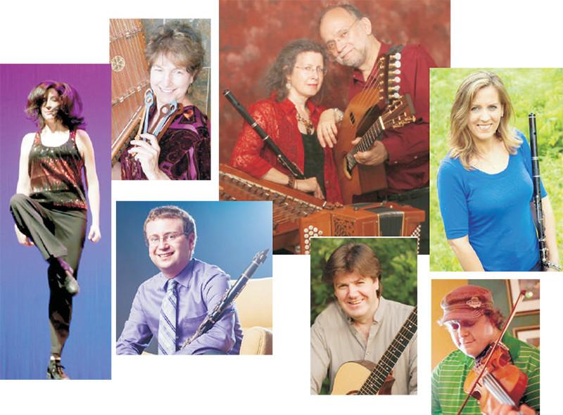 Maggie's Celtic Celebration feat. Maggie Sansone, Karen Ashbrook, Paul Oorts, Seth Kibel, Laura Byrne, Jimmy Eagan, David McKind