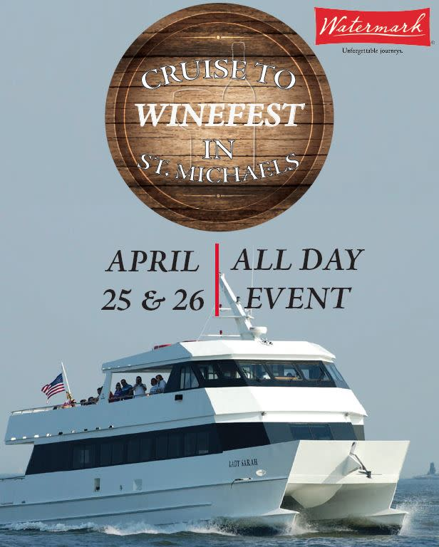 Cruise to the WineFest at St. Michaels