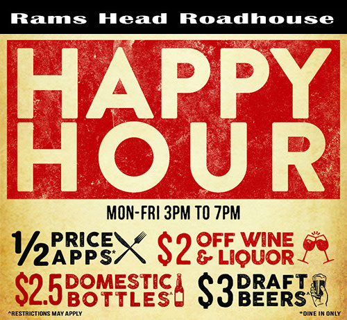 Happy Hour at Rams Head Roadhouse