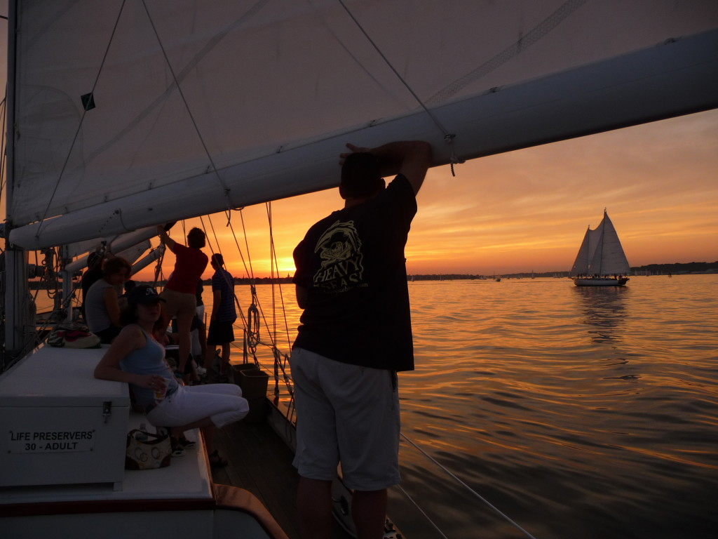 Thursday Acoustic Music Sunset Sail