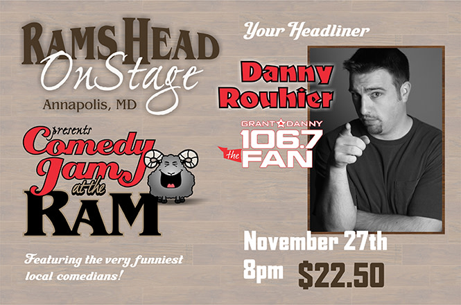 Comedy Jam at the Ram feat. Danny Rouhier