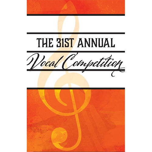 The 31st Annual Vocal Competition: Finals Concert