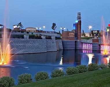 Bridgewater Falls Night