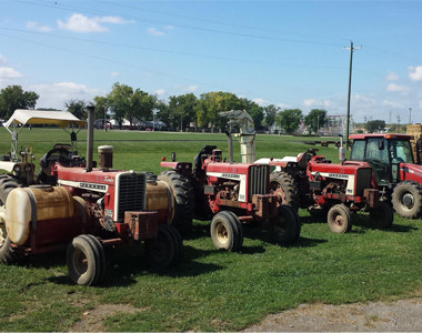 Browns Family Farm Market Tractors