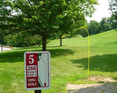 Disc Golf Hole 5