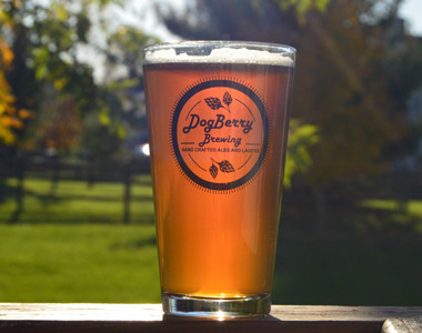 Dogberry Brewing Glass
