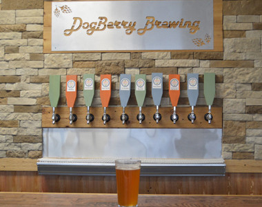 Dogberry Brewing Taps