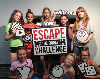 Escape the Room kids