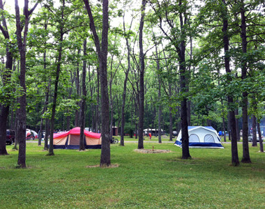 Hueston Woods Tents