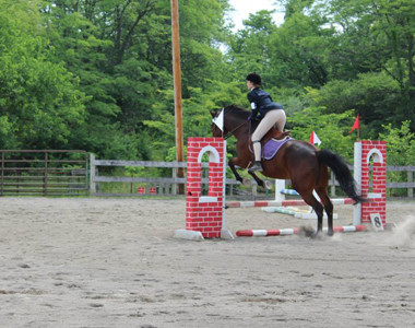 Old Stone Riding Two Jump