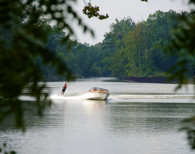 Rentschler Park Boat