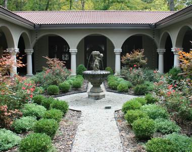 Sculpture Museum Courtyard