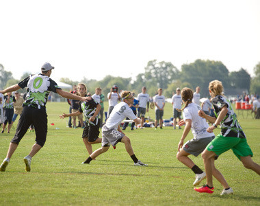 VOA Park Frisbee