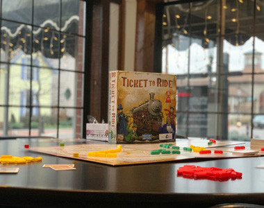 A Game Knight Ticket to Ride