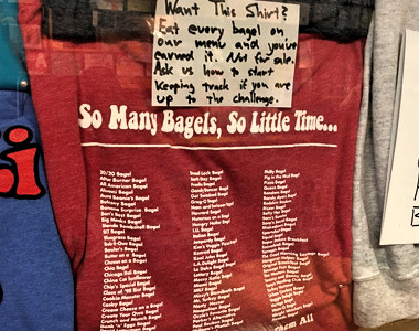Bagel and Deli Oxford T-shirt