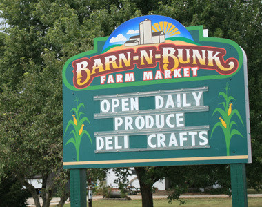 Barn-N-Bunk Farm Market Trenton, Ohio