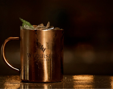 Cozy's Cafe and Pub Moscow Mule
