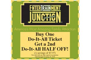 EnterTRAINment Junction Coupon 2019