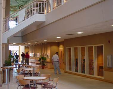 Fairfield Community Arts Center Interior