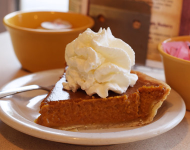 Hyde's pumpkin pie