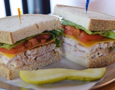 Liberty Sandwich Factory Roasted Turkey sandwich