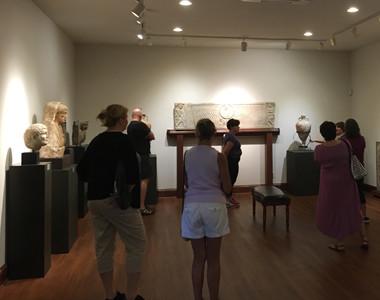 Visitors at Sculpture Museum