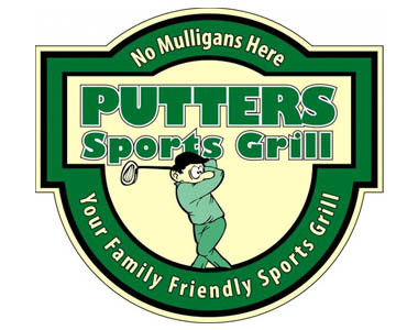 Putters Sports Grill Logo