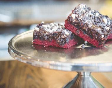Red Velvet Brownies - The Almond Sisters