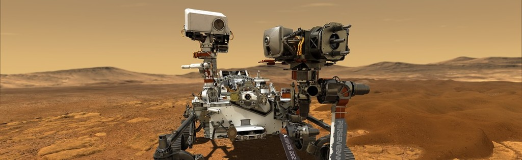 "VIRTUAL: Facebook Live ~""Looking for Life on Mars with the NASA Preseverance Rover"" by Fellowship of the Books 5 Libraries"