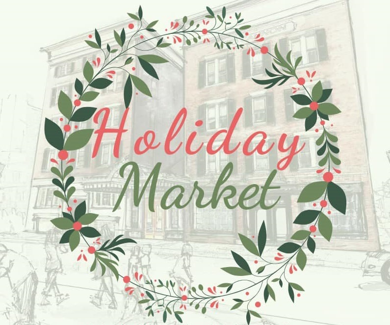 Holiday Market at 40 Cannon St.