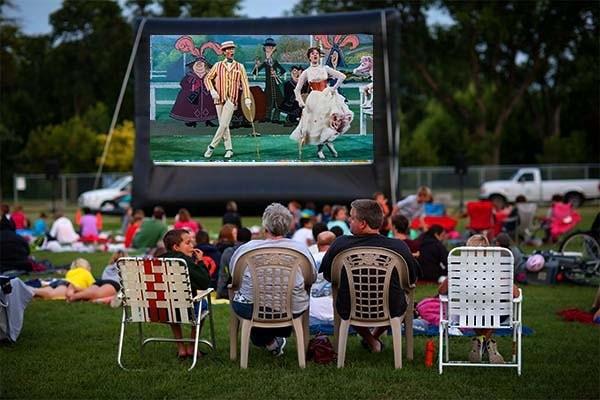 "Outdoor Screening of ""Mary Poppins"" at Bowdoin Park"
