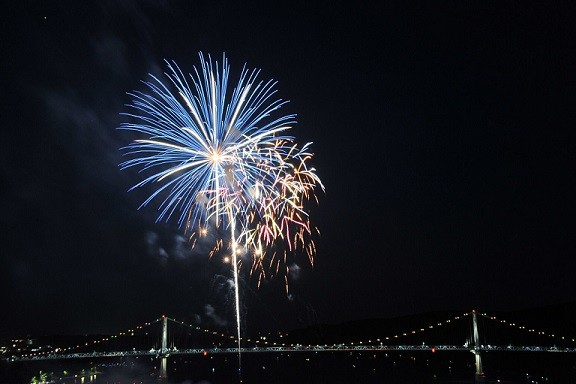 First Friday in Poughkeepsie Celebration - Anniversary Party at The Walkway Over The Hudson!