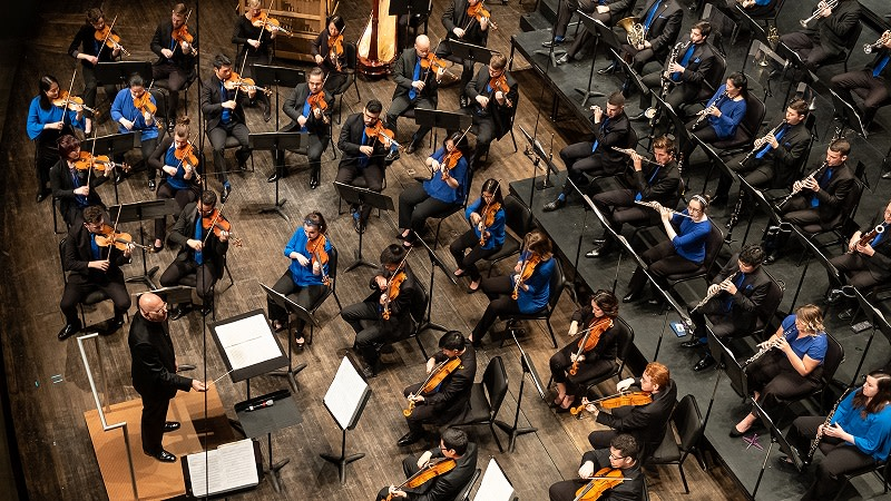 The Orchestra Now Season Opens with Copland and Strauss at Bard College