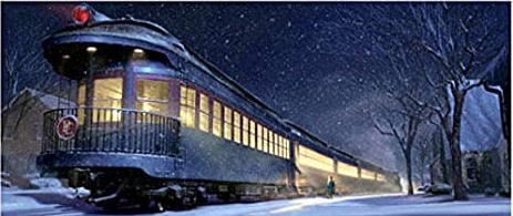 Polar Express Night at Historic Hyde Park Railroad Station!