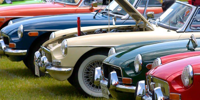 Annual Classics on The Green Car Show