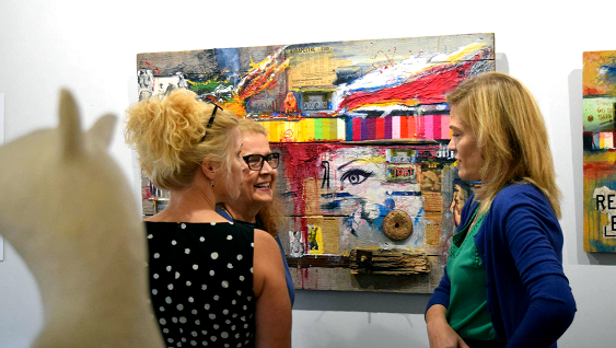 """Celebrating Color"" Opening Reception at Womenswork.art"