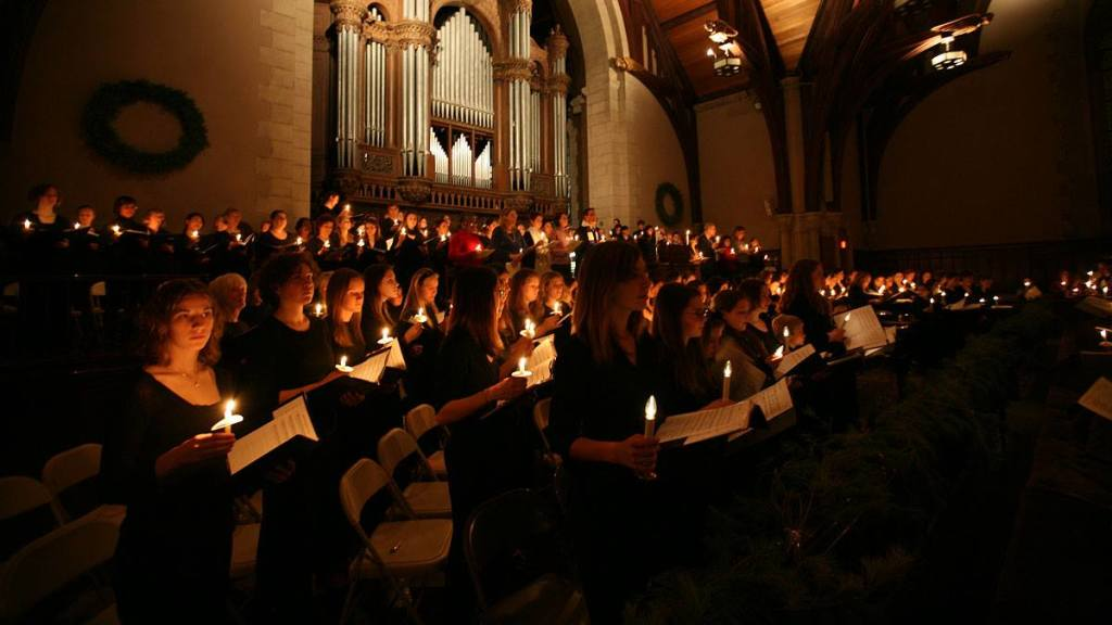 A Service of Lessons and Carols at Vassar College Chapel