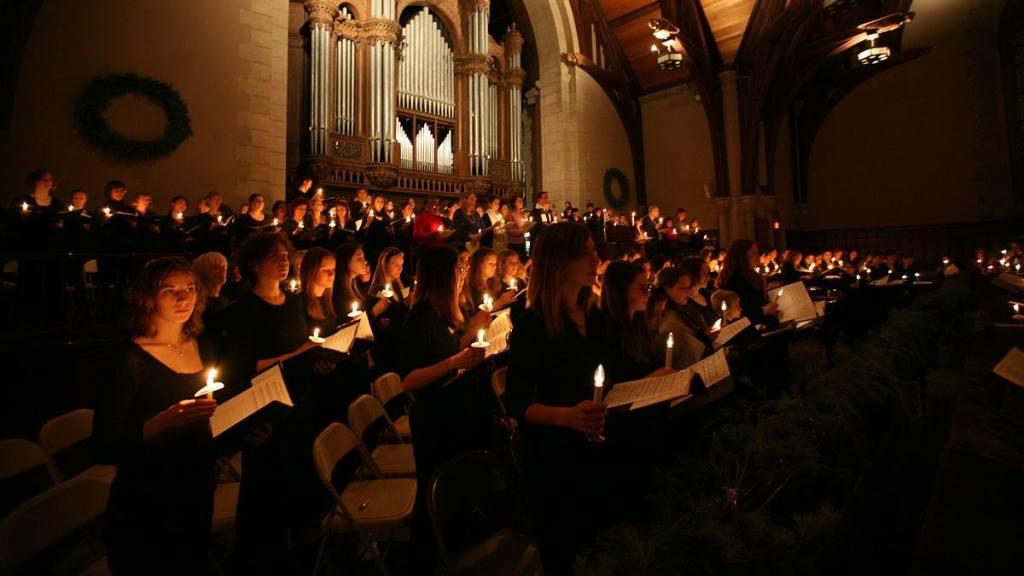 Cappella Festiva Lessons & Carols at Vassar College Chapel